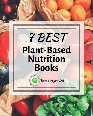 Title image for plant-based nutrition books.