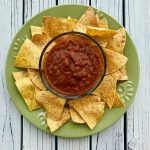 mild salsa recipe with tortilla chips