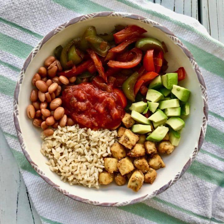 High protein vegan bowl recipe