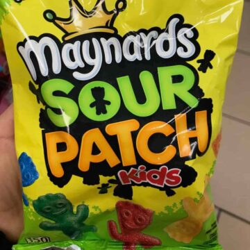 A package of Sour Patch Kids.