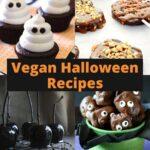 Four different halloween treats.